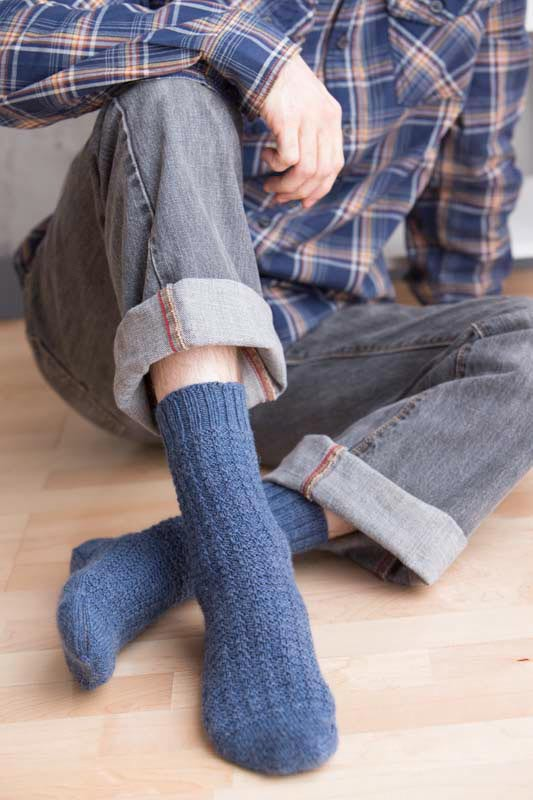 how to choose the right sock knitting pattern