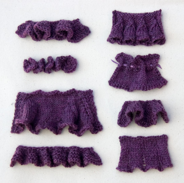 A Collection of Ways to Knit Ruffles