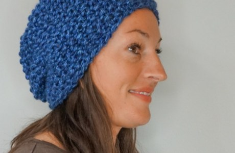 An Easy Hat to Knit Before it Gets Cold