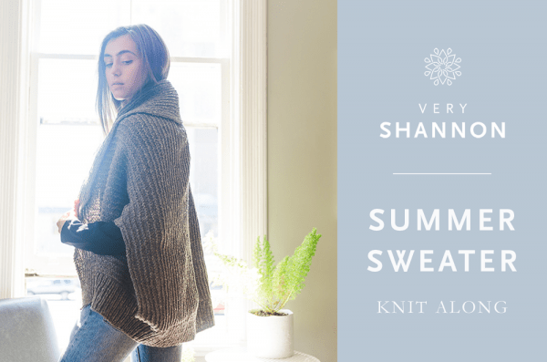 summer sweater knitalong