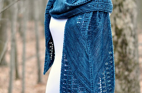 Knit a Shawl Inspired by the Library