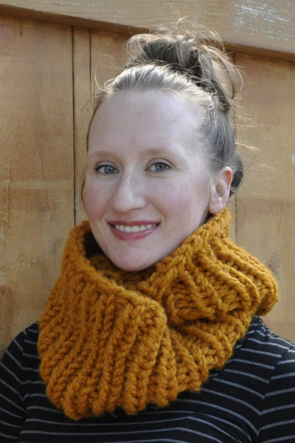 two-hour cowl knitting pattern