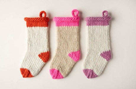 super bulky christmas stocking