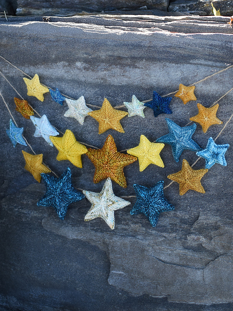 scintillation stars knitting pattern