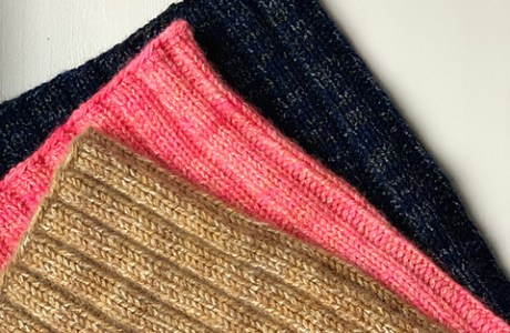 plucky knitter ribbed colw