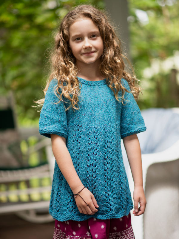 hermione girls knit top