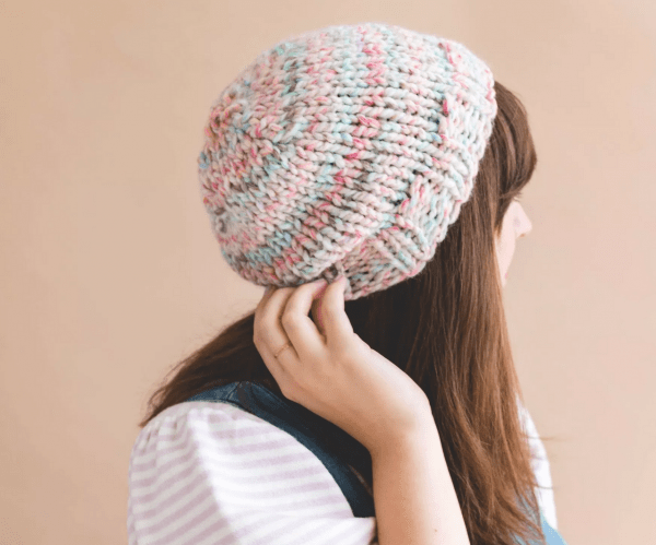 A Simple Hat to Knit up Quick