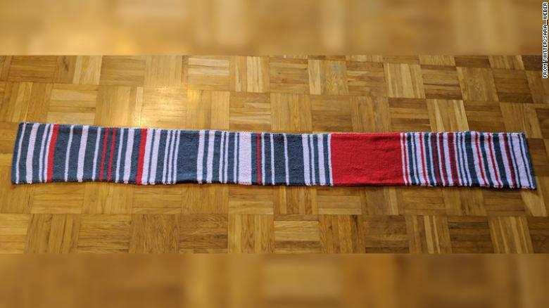 Have You Knit a Temperature Scarf? Here's How to Do it