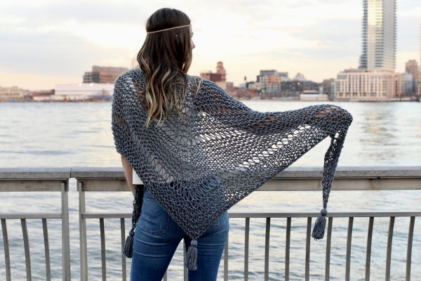 Embrace Summer with the Stevie Shawl