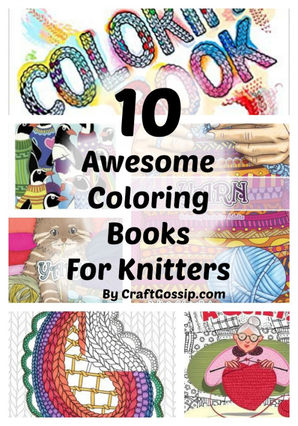 10 Coloring Books For Knitters – Knitting