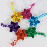 Woven Stars to Knit for the Holidays