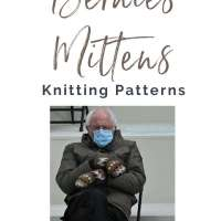 Knit Bernie's Mittens from the Inauguration