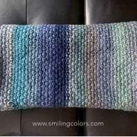 Half Linen Stitch Blanket Knitting Pattern
