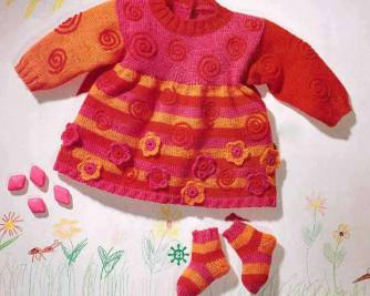 Knitted baby and child sweater patterns (228)
