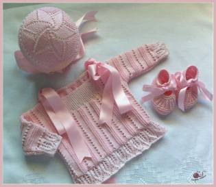 Knitted baby and child sweater patterns (241)