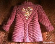 Knitted baby and child sweater patterns (254)