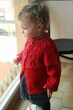 Knitted baby and child sweater patterns (273)