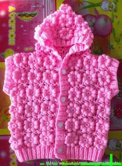 Knitted baby and child sweater patterns (286)