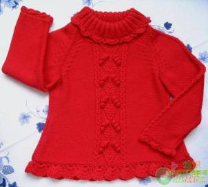 Knitted baby and child sweater patterns (287)