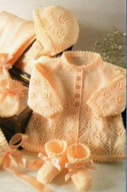 Knitted baby dress, vest, cardigan, sweater, overalls patterns (103)