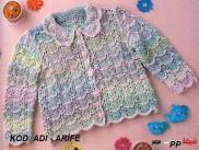 Knitted baby dress, vest, cardigan, sweater, overalls patterns (121)