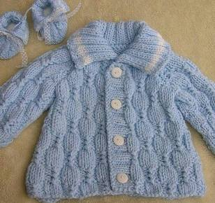Knitted baby dress, vest, cardigan, sweater, overalls patterns (127)