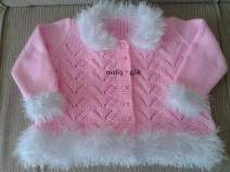 Knitted baby dress, vest, cardigan, sweater, overalls patterns (140)