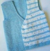 Knitted baby dress, vest, cardigan, sweater, overalls patterns (144)