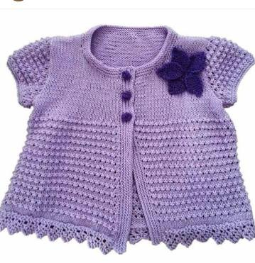 Knitted baby dress, vest, cardigan, sweater, overalls patterns (159)