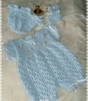 Knitted baby dress, vest, cardigan, sweater, overalls patterns (203)