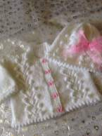 Knitted baby dress, vest, cardigan, sweater, overalls patterns (267)