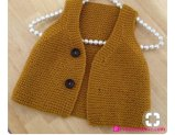 Knitted baby dress, vest, cardigan, sweater, overalls patterns (292)