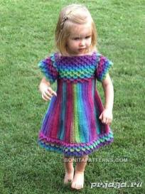 Knitted baby dress, vest, cardigan, sweater, overalls patterns (728)