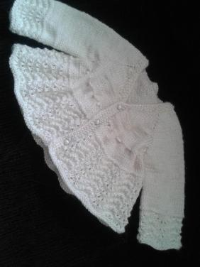 Knitted baby dress, vest, cardigan, sweater, overalls patterns (737)