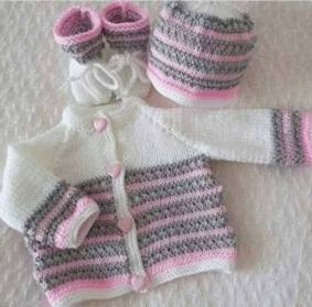 Knitted baby dress, vest, cardigan, sweater, overalls patterns (762)