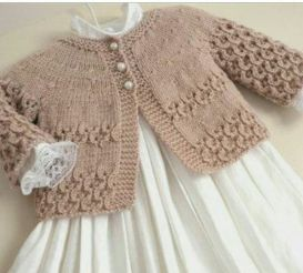 Knitted baby dress, vest, cardigan, sweater, overalls patterns (764)