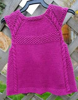 Knitted baby dress, vest, cardigan, sweater, overalls patterns (784)
