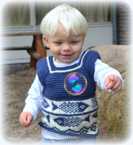 Knitted baby sweater, vest patterns (33)