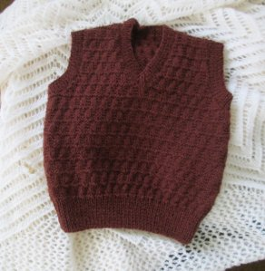Knitted baby sweater, vest patterns (50)