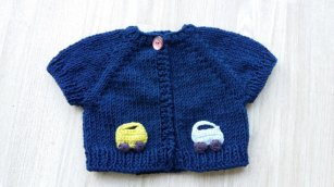Knitted baby sweater, vest patterns (52)