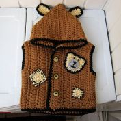 Knitted baby sweater, vest patterns (71)