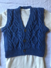 Knitted baby sweater, vest patterns (90)