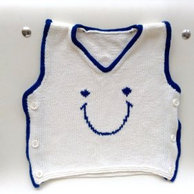 Knitted baby sweater, vest patterns (91)