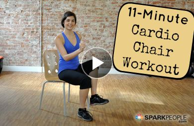 Chair Workout - Quick Chair Exercises (100)