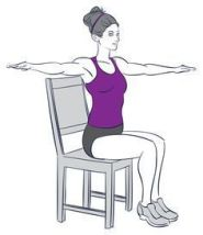 Chair Workout - Quick Chair Exercises (131)