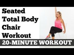 Chair Workout - Quick Chair Exercises (160)