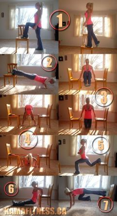Chair Workout - Quick Chair Exercises (165)