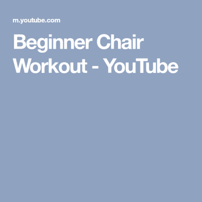Chair Workout - Quick Chair Exercises (18)