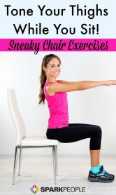 Chair Workout - Quick Chair Exercises (2)
