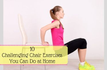 Chair Workout - Quick Chair Exercises (21)